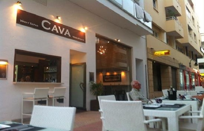 Restaurant Cava in Moraira